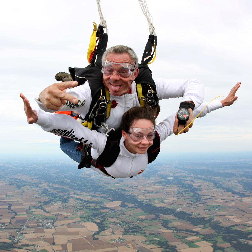 saut en parachute paradise 64